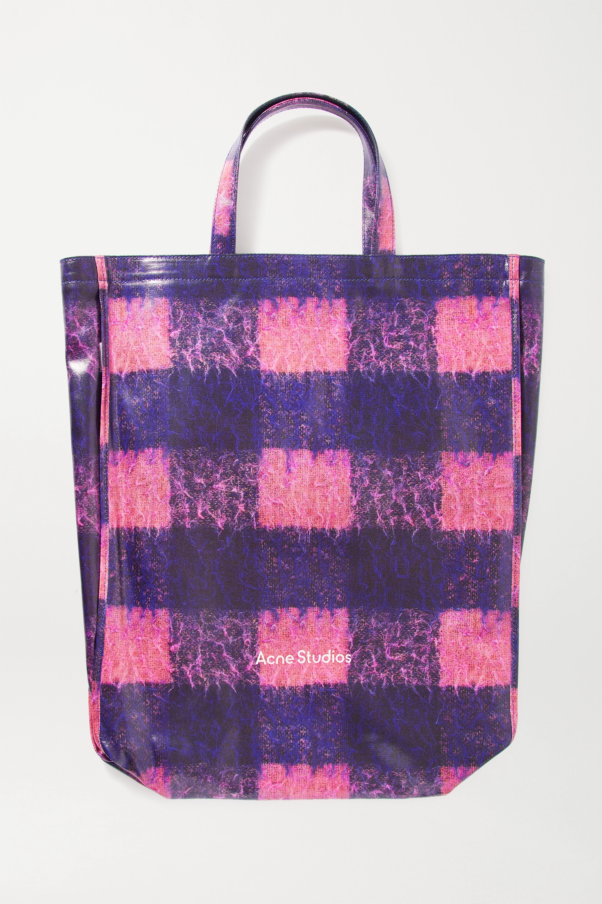 Acne Studios Printed coated-cotton tote