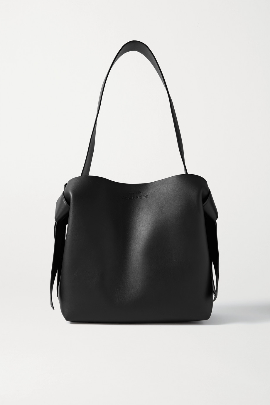 Acne Studios Medium knotted leather shoulder bag