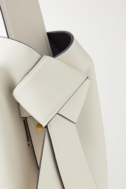 Acne Studios Knotted leather shoulder bag