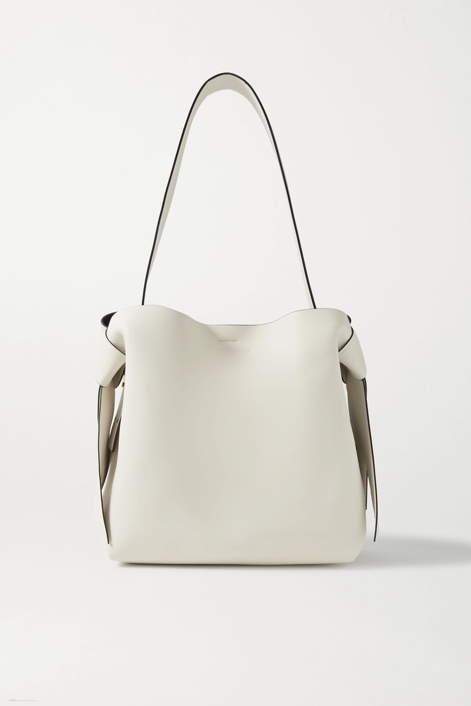 Acne Studios Knotted leather shoulder bag
