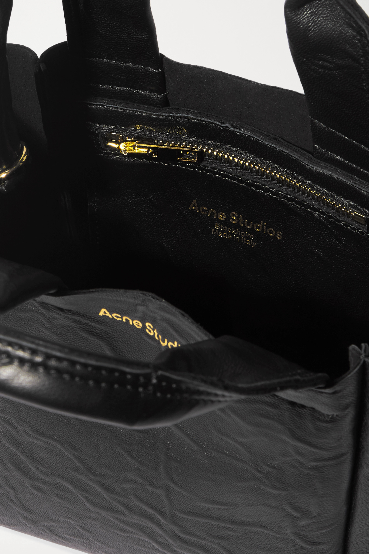 Acne Studios Printed crinkled-leather tote