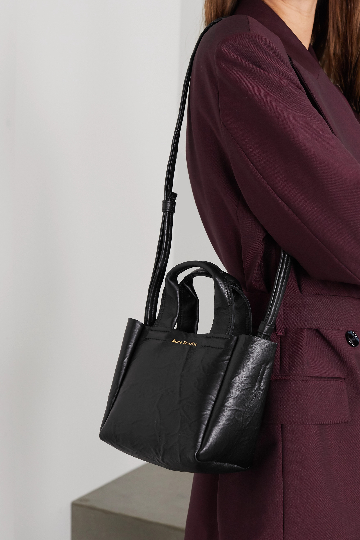 Acne Studios Mini crinkled-leather tote