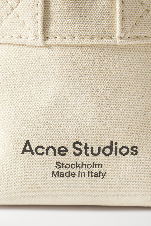 Acne Studios Sac à main en toile imprimée