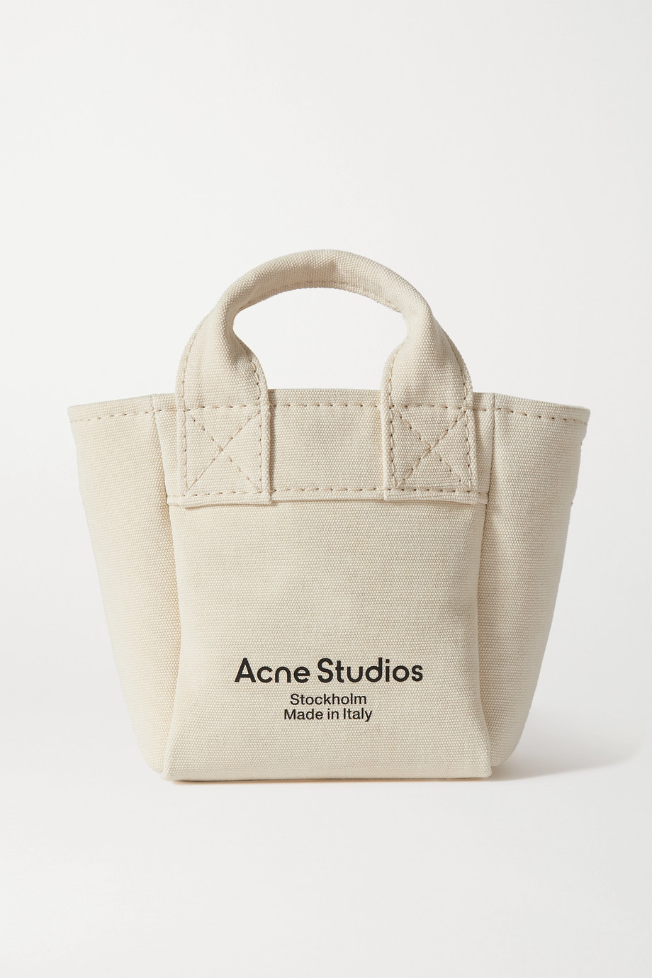Acne Studios Printed canvas tote