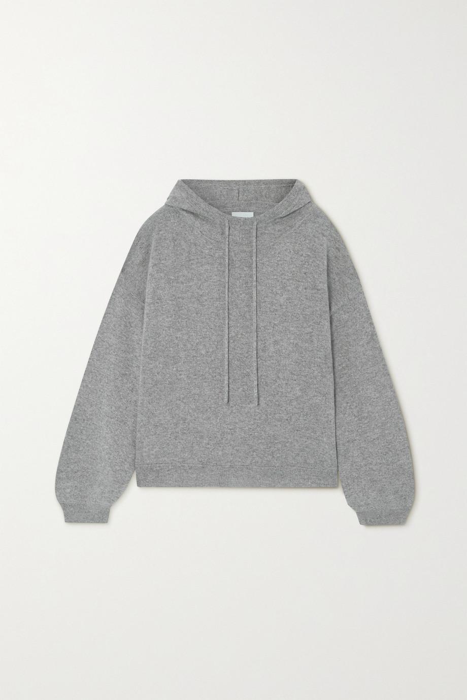 LOULOU STUDIO Linosa mélange cashmere hoodie