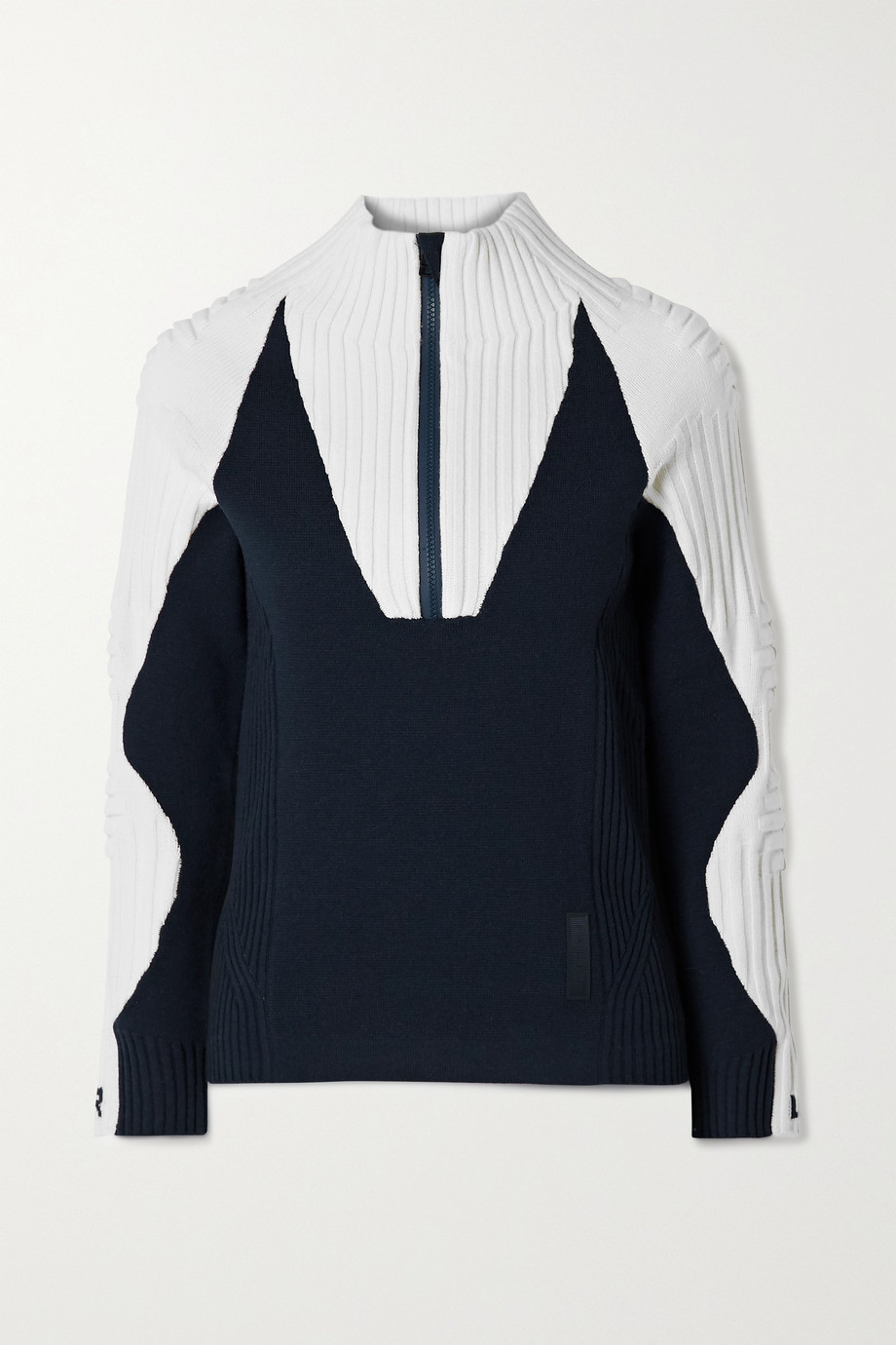 FALKE Ergonomic Sport System Ribbed wool-blend sweater