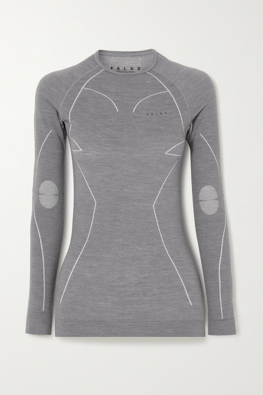 FALKE Ergonomic Sport System Wool-blend top