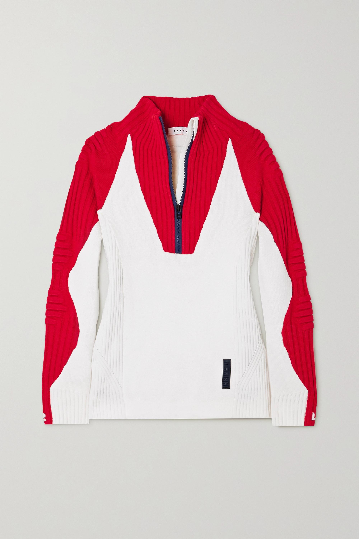 FALKE Ergonomic Sport System Ribbed wool-blend sweater