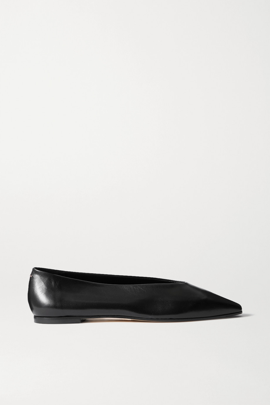 aeyde Betty leather flats