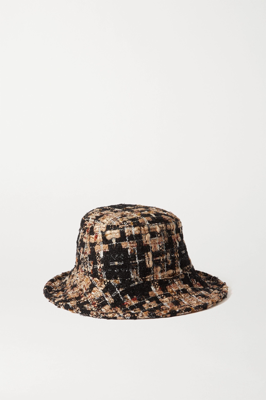 Dolce & Gabbana Fischerhut aus Tweed