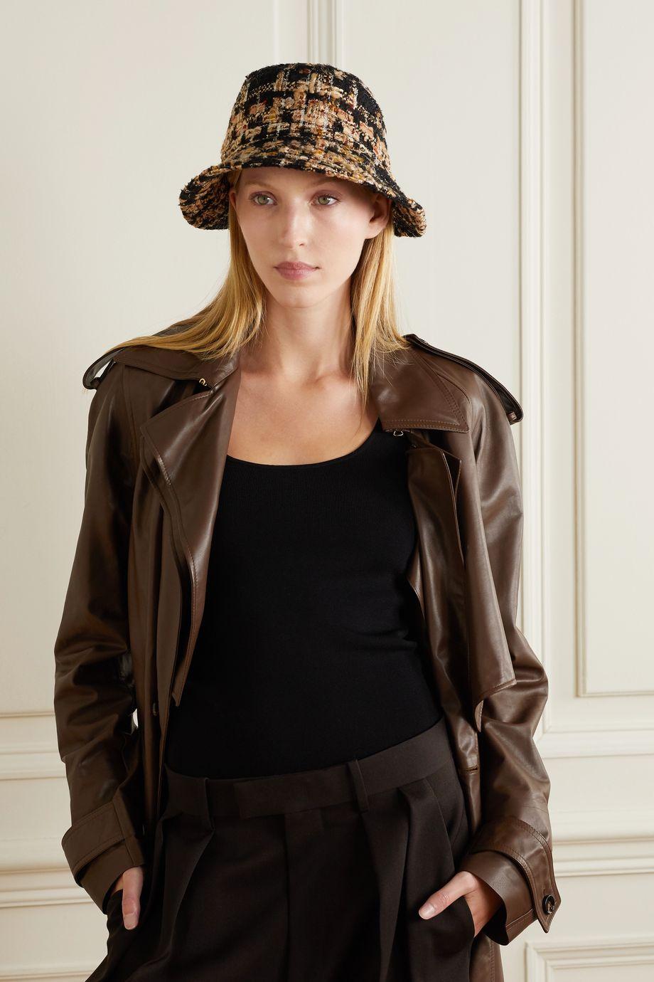 Dolce & Gabbana Tweed bucket hat