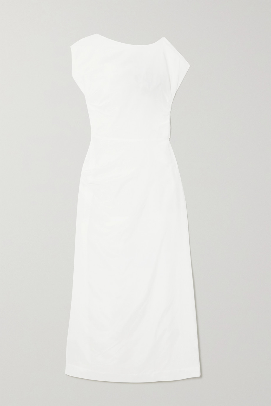 Georgia Alice Lily gathered cotton and silk-blend voile maxi dress