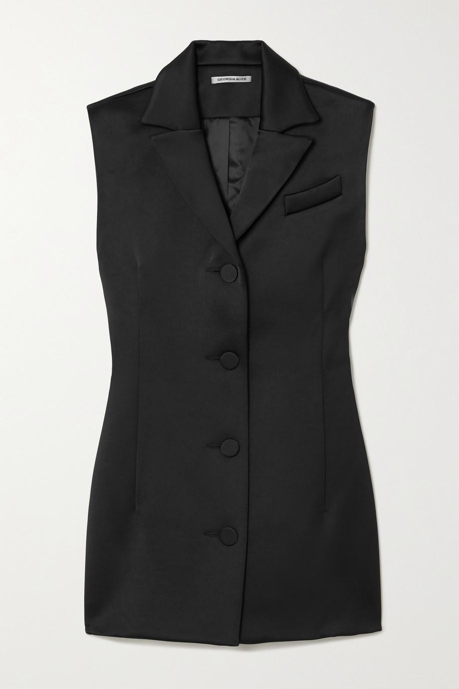 Georgia Alice Satin mini dress