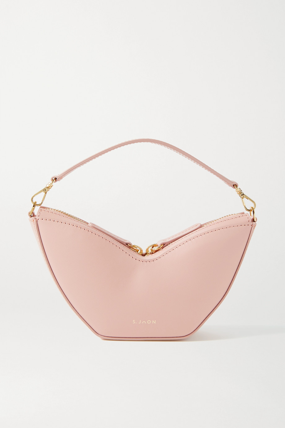 S.Joon Tulip mini leather shoulder bag
