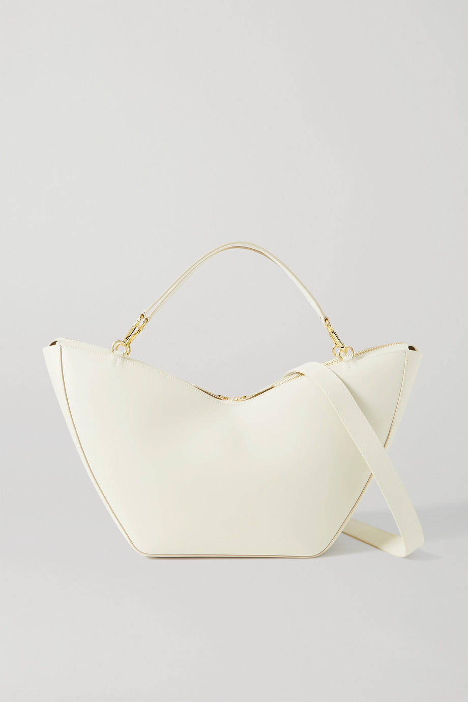 S.Joon Tulip large leather shoulder bag