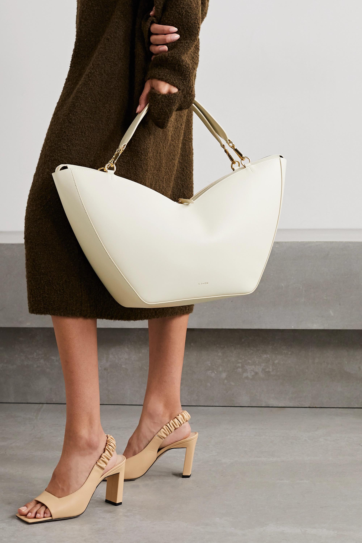 S.Joon Tulip large leather shoulder bag