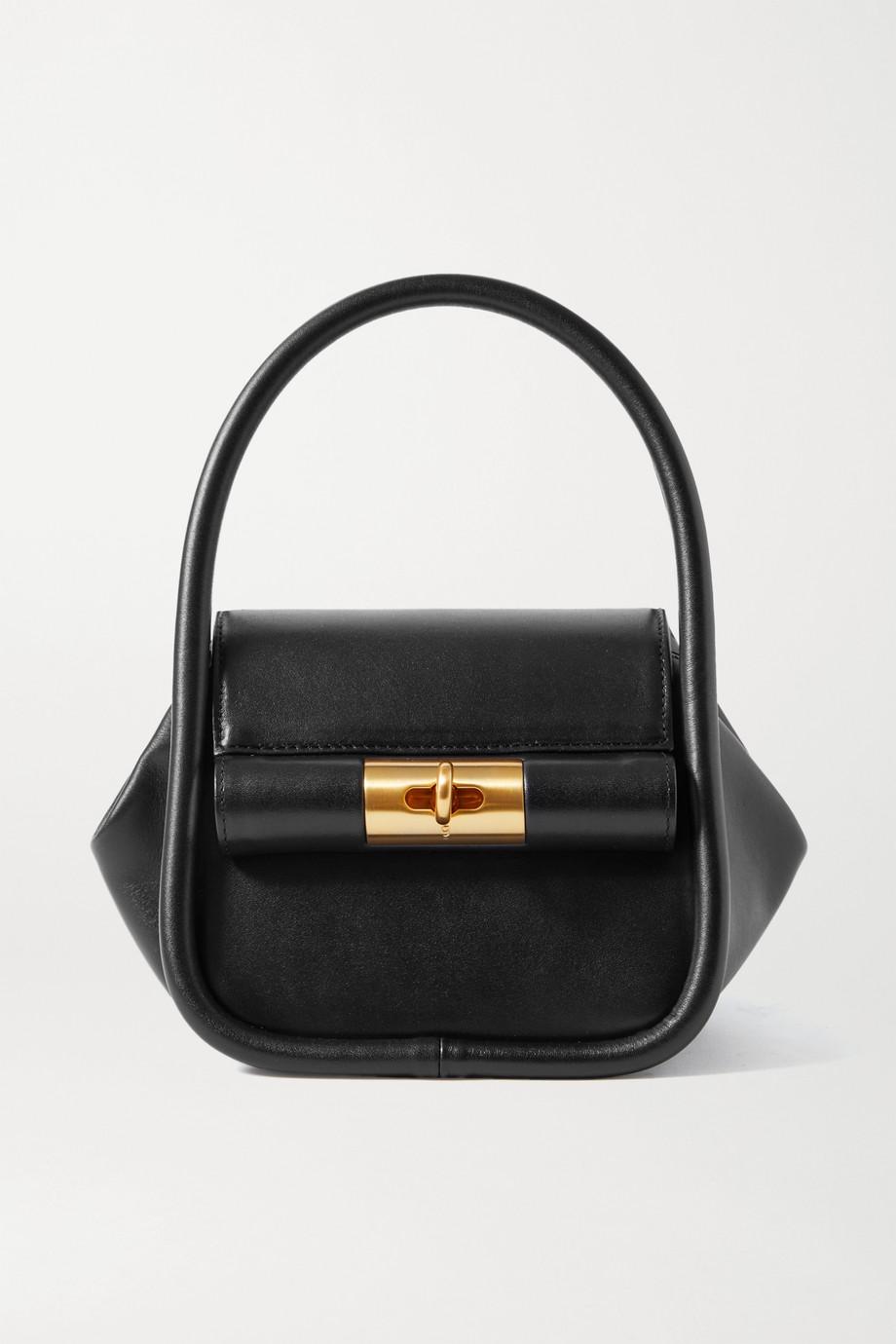 Gu_de Love leather tote