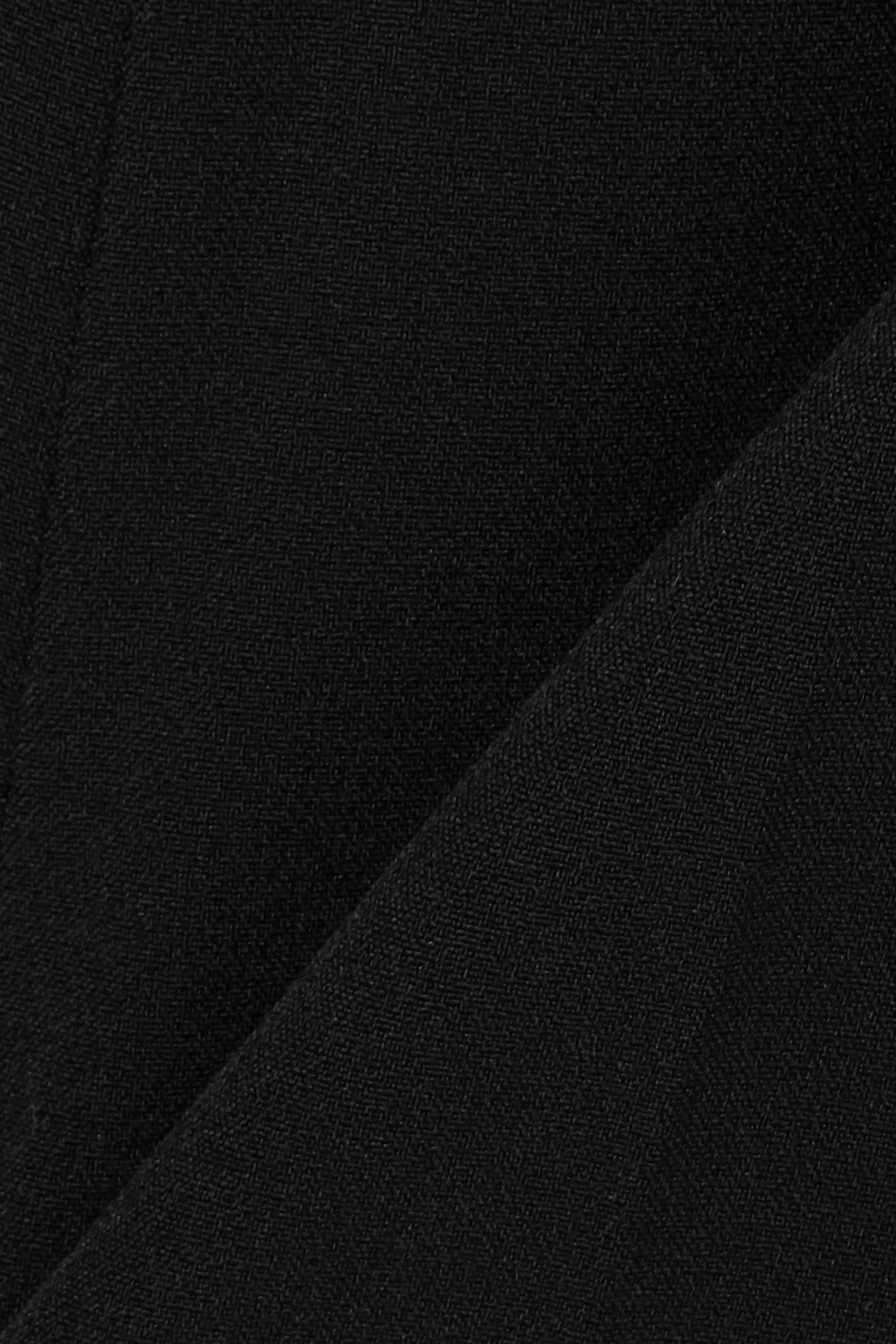 Black Goldie Stretch-crepe Straight-leg Pants   Safiyaa