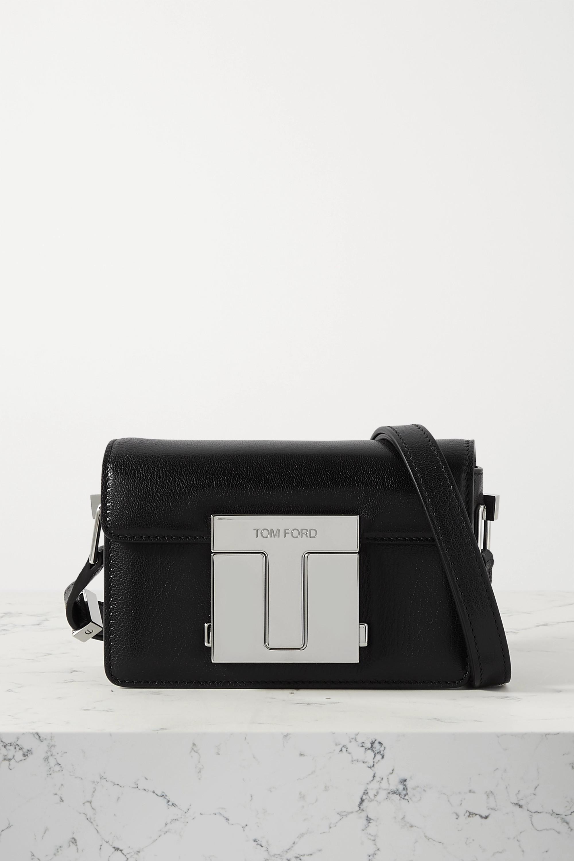 TOM FORD 001 small leather shoulder bag