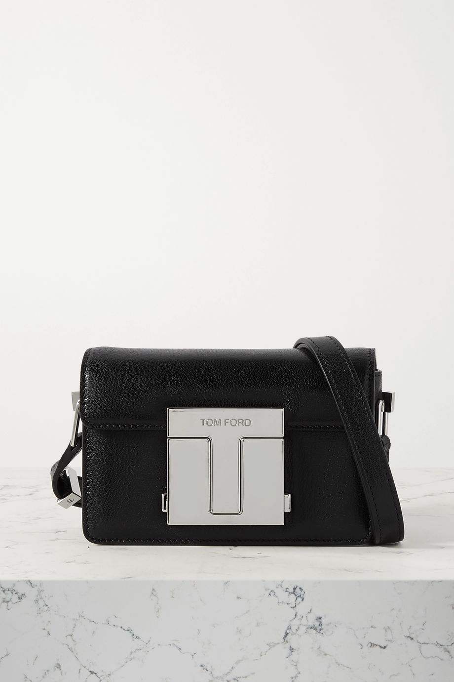 TOM FORD 001 small leather shoulder bag
