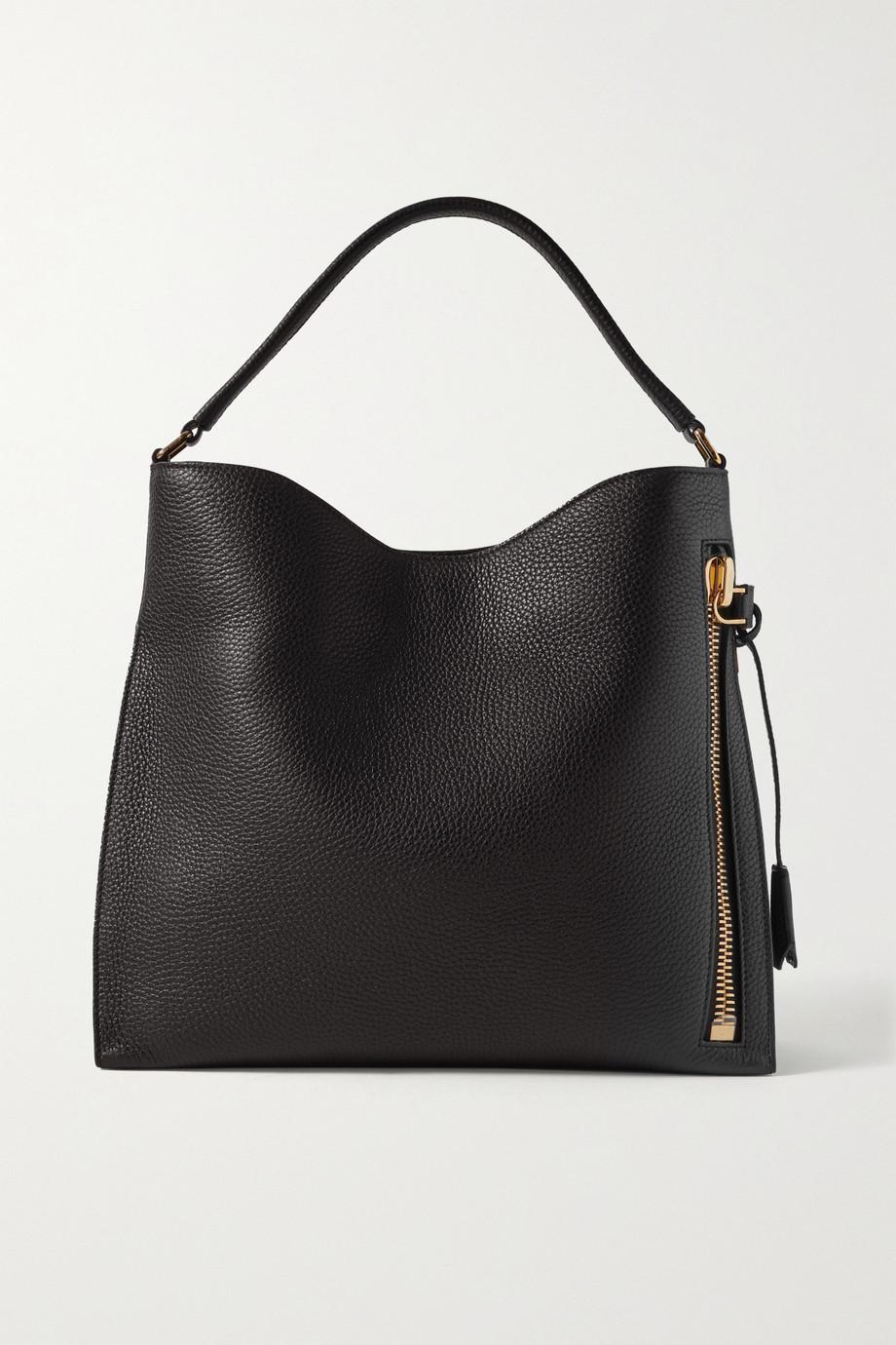 TOM FORD Alix textured-leather shoulder bag