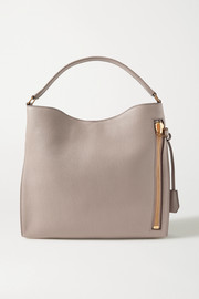 TOM FORD Alix textured-leather shoulder bag