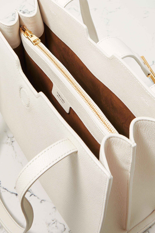 TOM FORD Tara medium textured-leather tote
