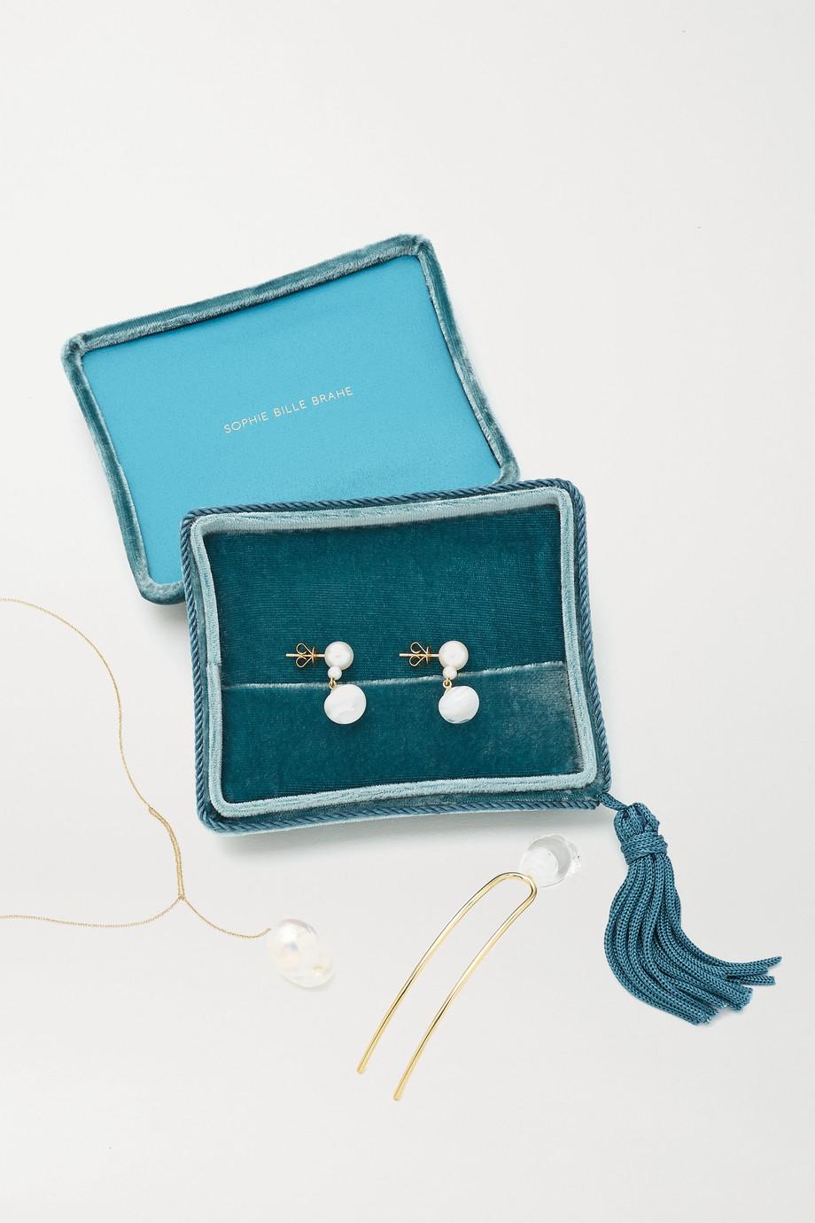 Sophie Bille Brahe Velvet jewelry box