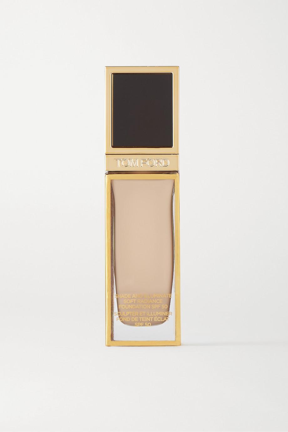 TOM FORD BEAUTY Shade and Illuminate Soft Radiance Foundation SPF50 - 1.3 Nude Ivory, 30ml