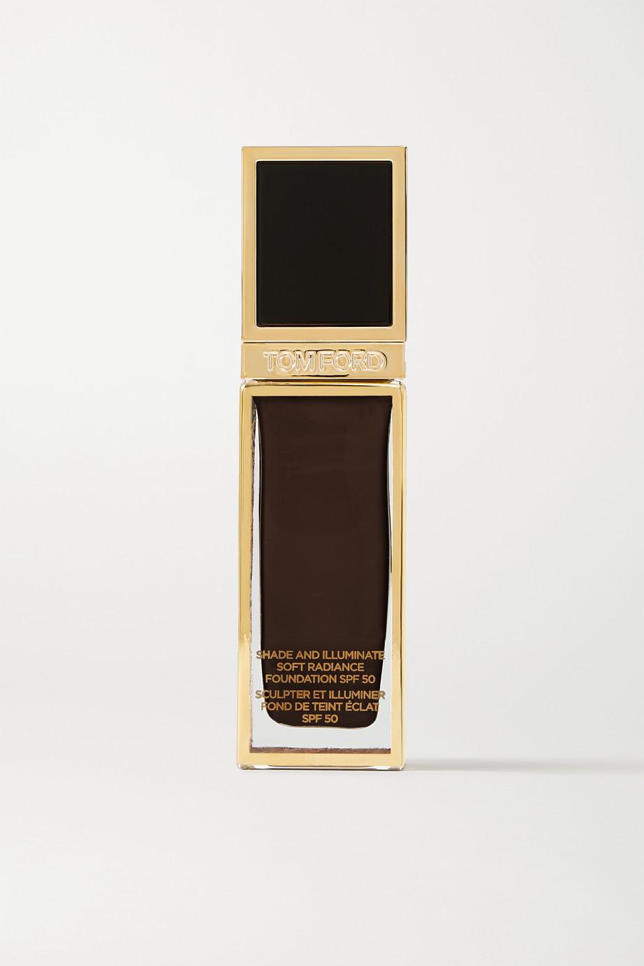 TOM FORD BEAUTY Shade and Illuminate Soft Radiance Foundation SPF50 - 13.0 Espresso, 30ml
