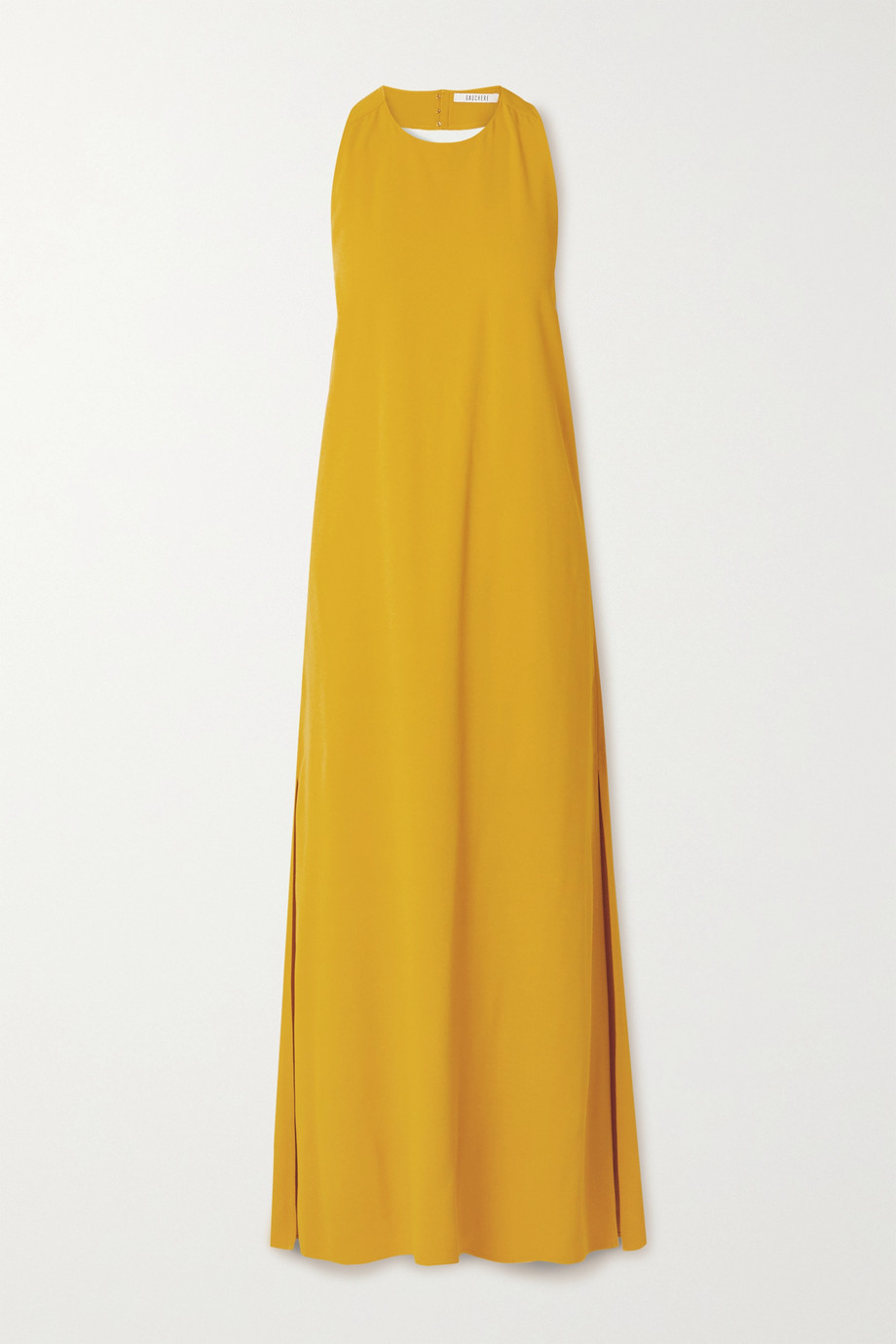 GAUCHERE Rei crepe halterneck maxi dress