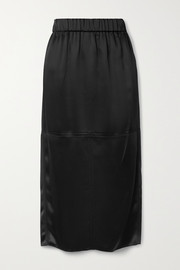 GAUCHERE Riry satin midi skirt