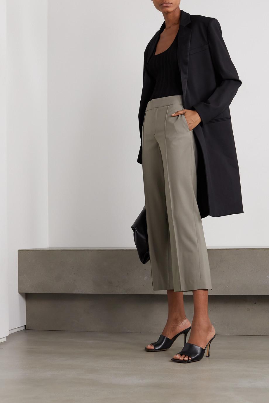 GAUCHERE Romea cropped wool-blend slim-fit pants