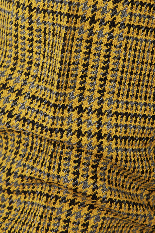 GAUCHERE Rubi Prince of Wales checked wool straight-leg pants