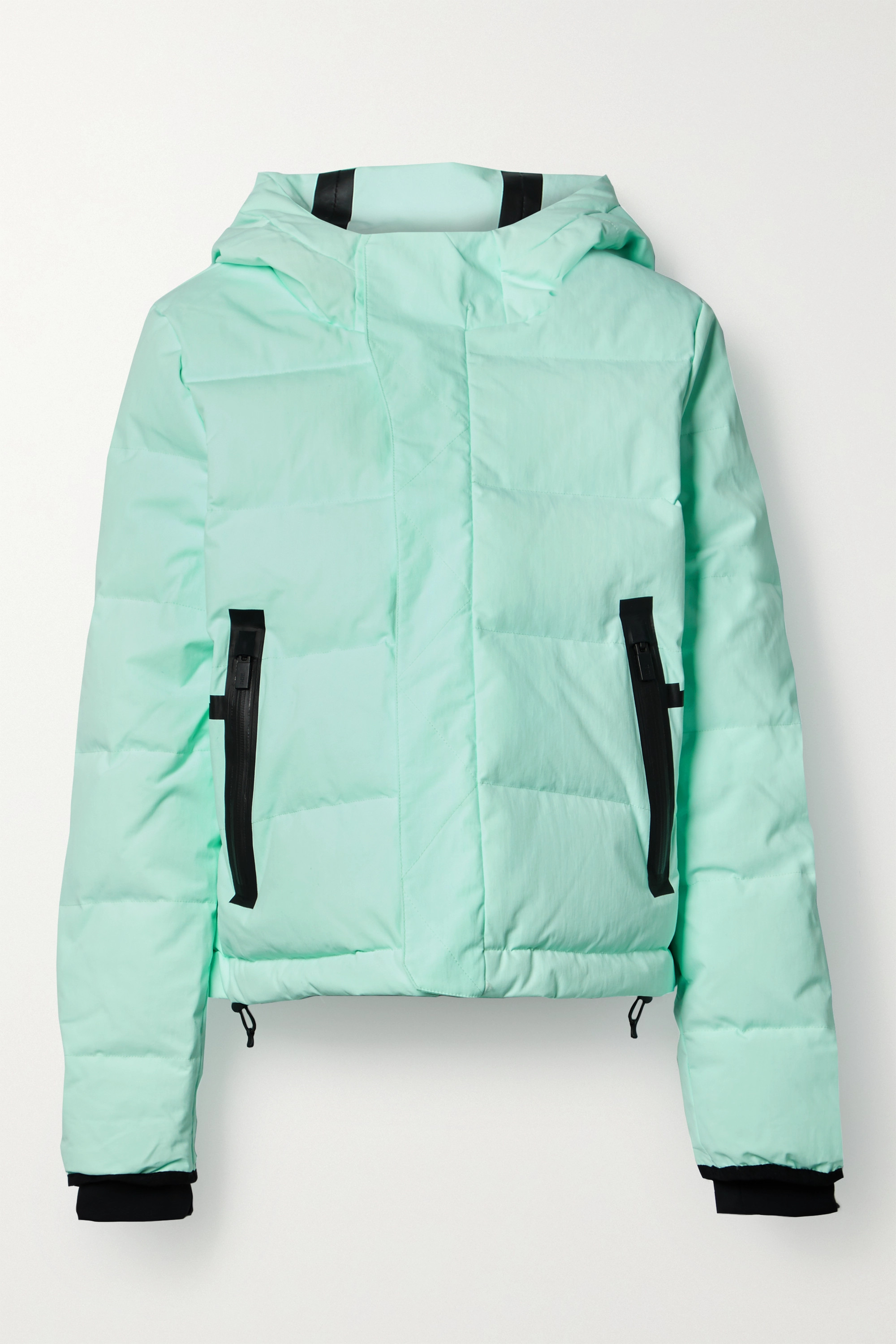TEMPLA - 2L Classic hooded quilted down ski jacket