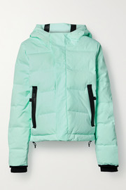 TEMPLA 2L Classic hooded quilted down ski jacket
