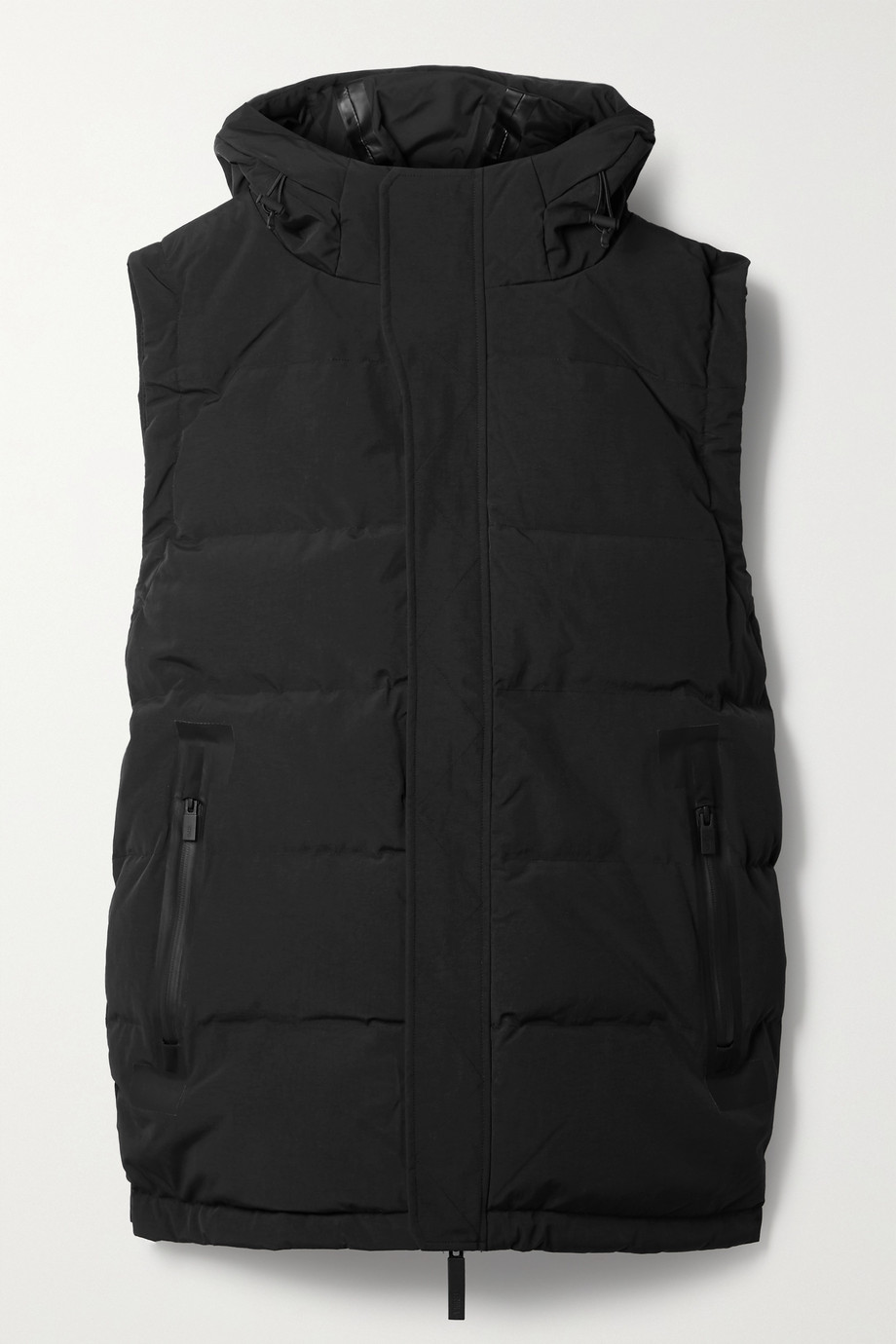 TEMPLA 2L 20K hooded quilted ski vest