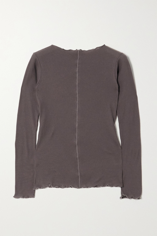Baserange Haut en jersey de coton biologique côtelé Pama - NET SUSTAIN