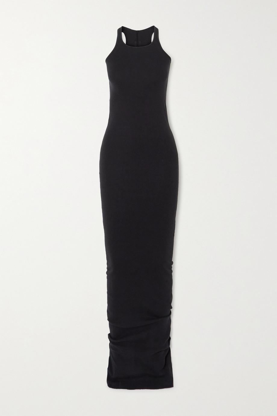 Rick Owens Ribbed cotton-jersey maxi dress