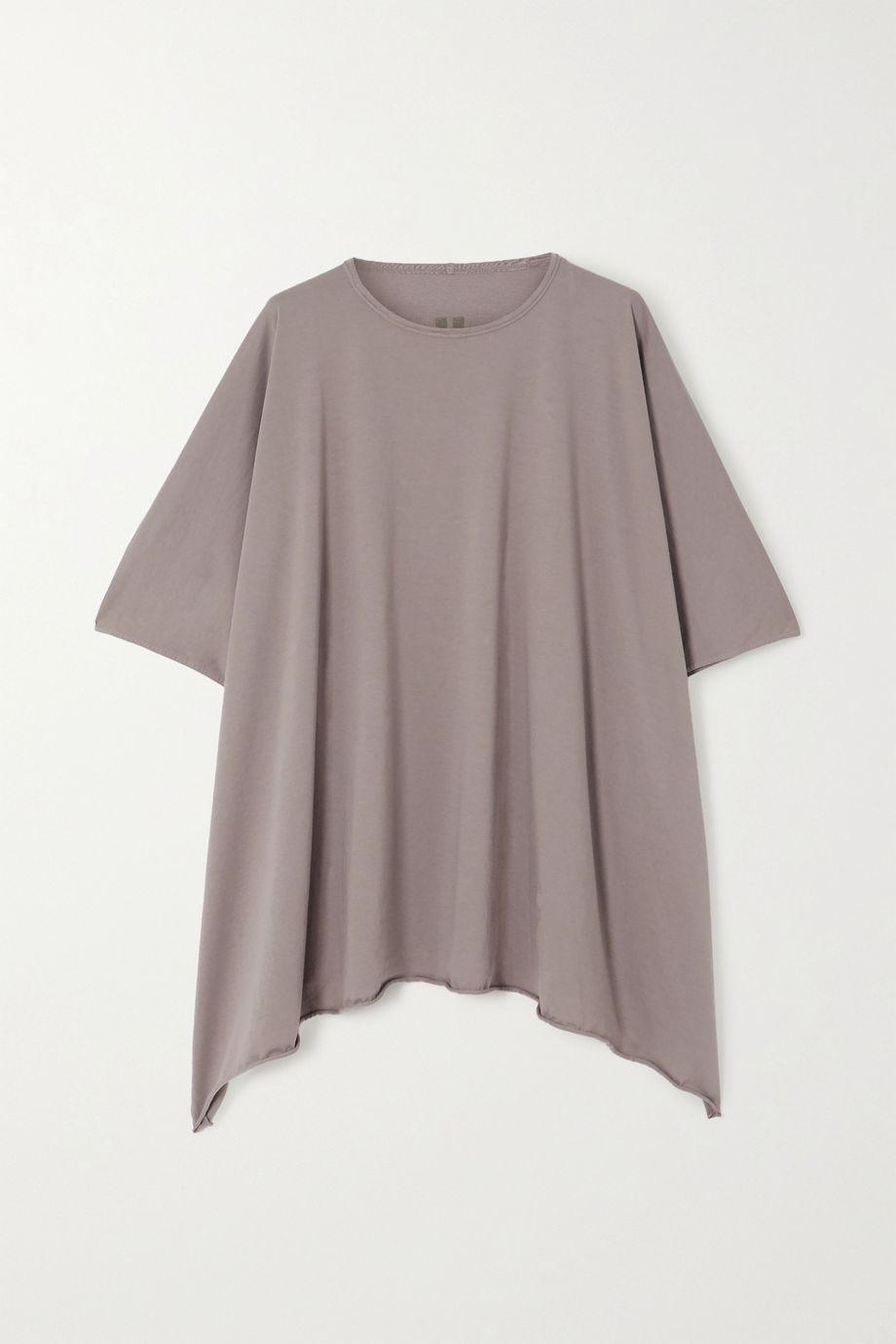 Rick Owens Minerva oversized cotton-jersey T-shirt