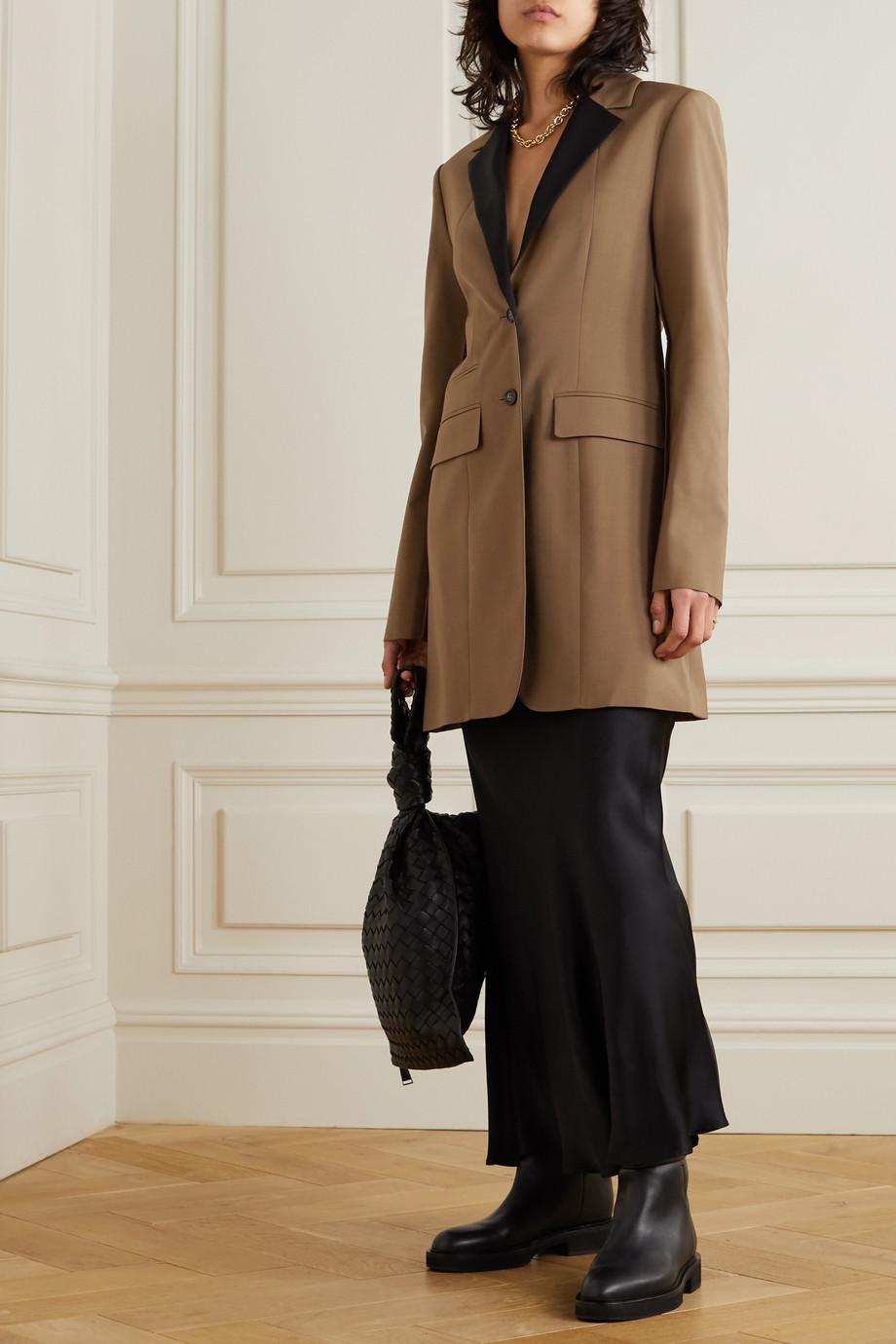 Deveaux Manteau tissé bicolore Kora
