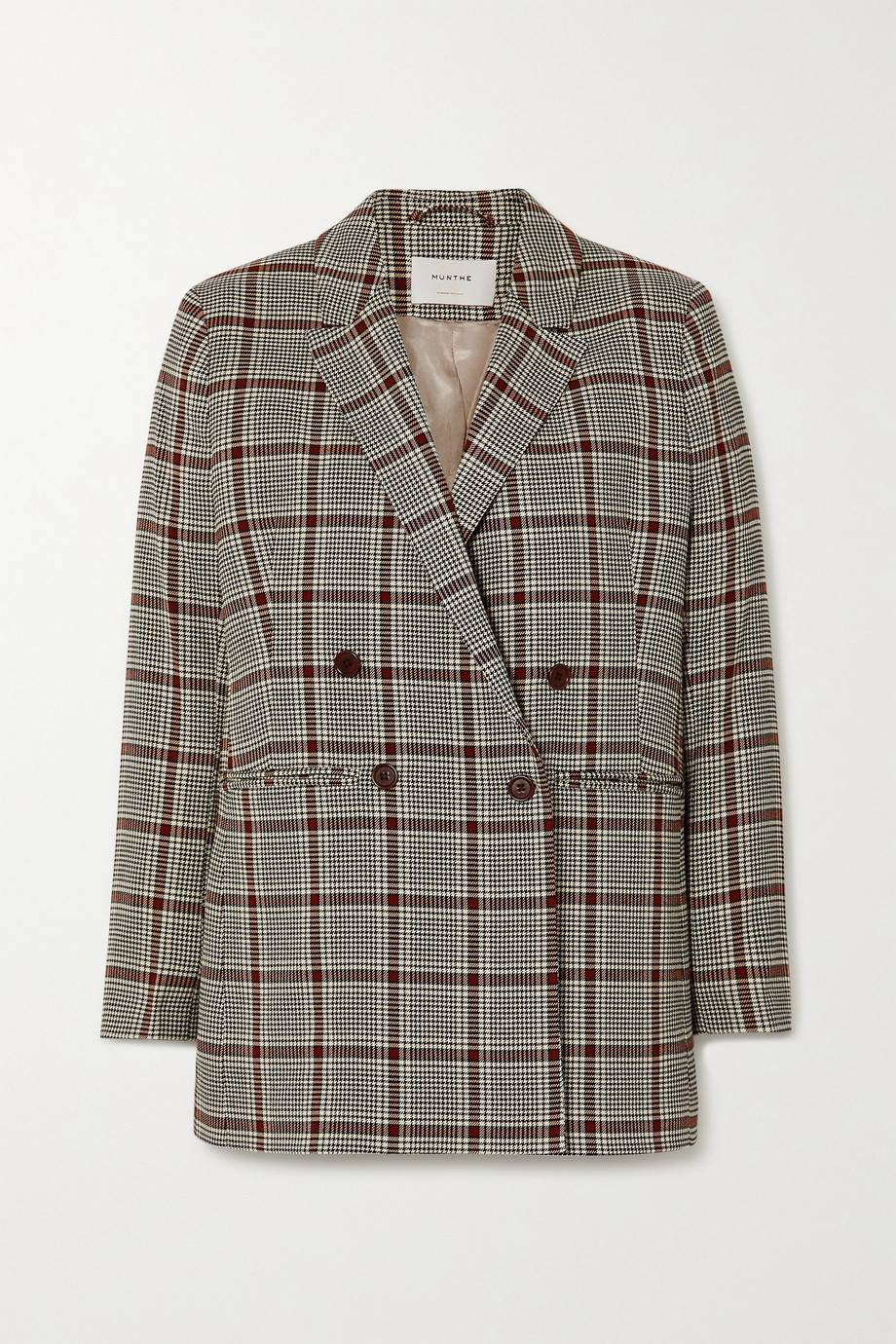 MUNTHE Lyle 双排扣梭织西装外套