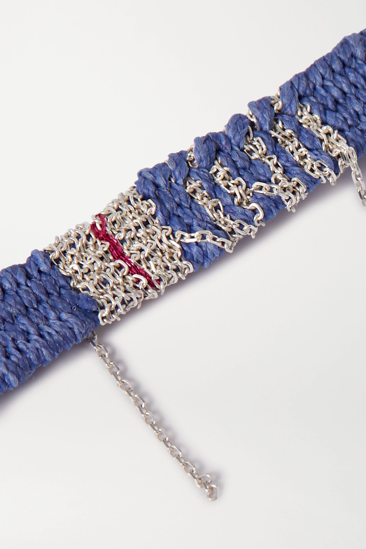 Katia Alpha 编绳银质手绳