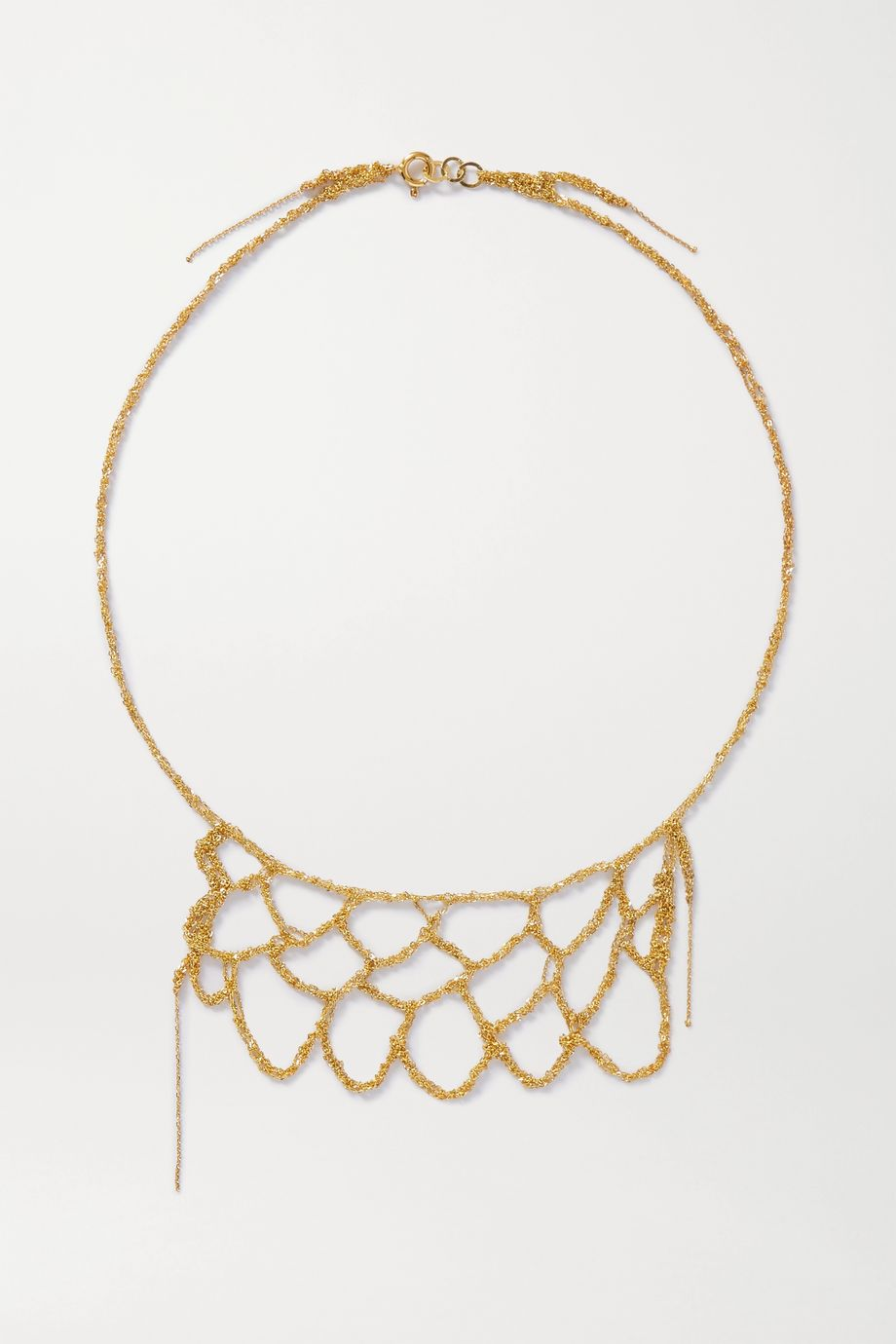 Katia Alpha Gold vermeil necklace