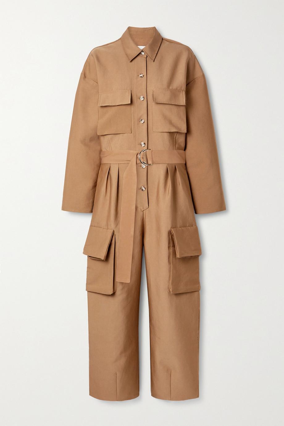 Frankie Shop Linda 斜纹布连身裤
