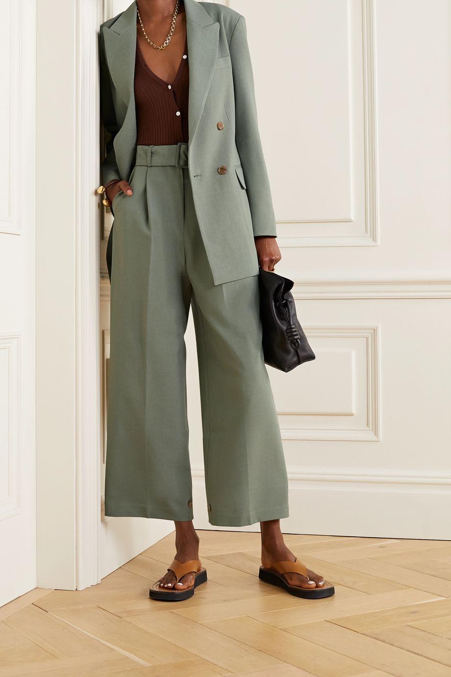 Frankie Shop Elvira crepe blazer