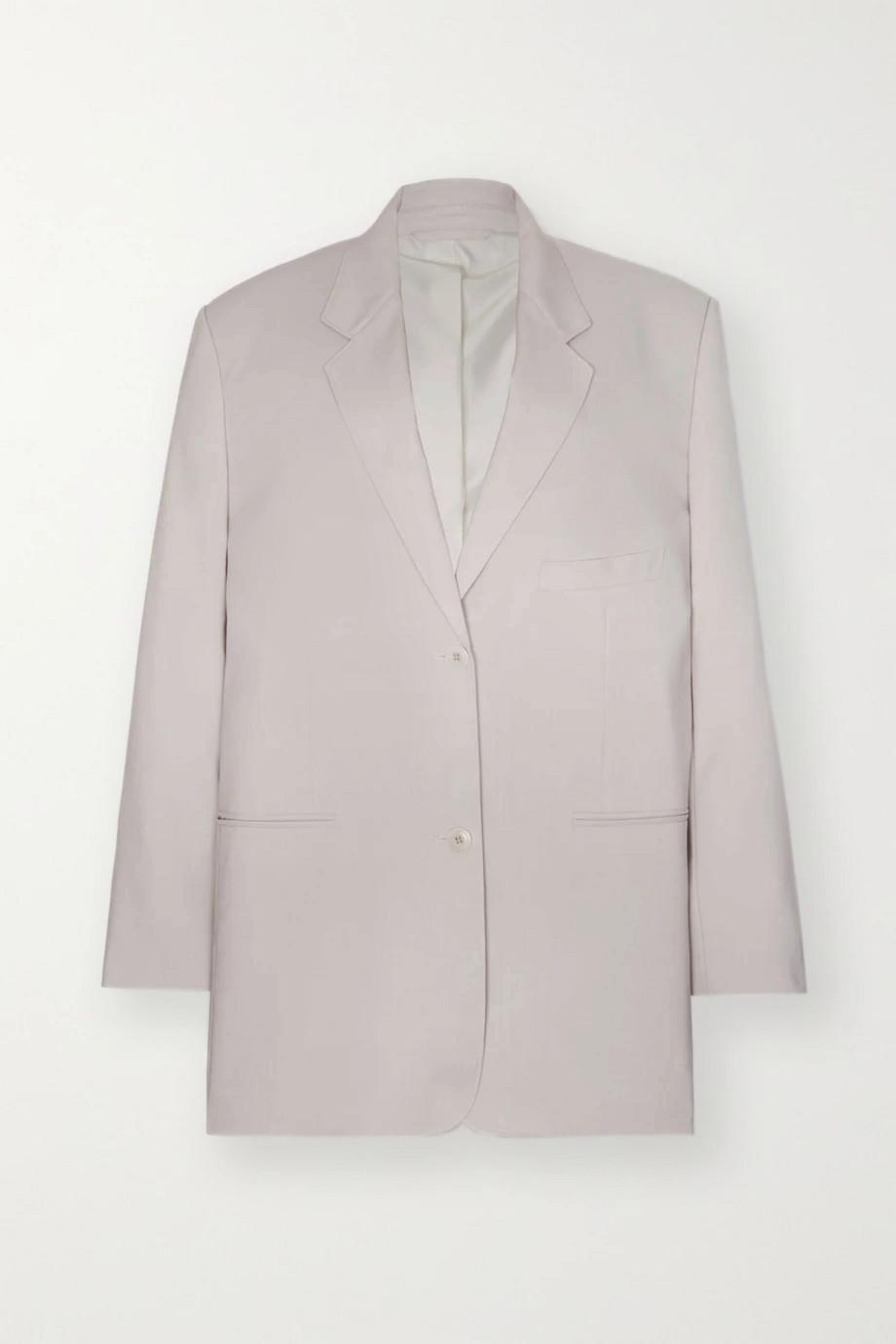 Frankie Shop Pernille oversized woven blazer