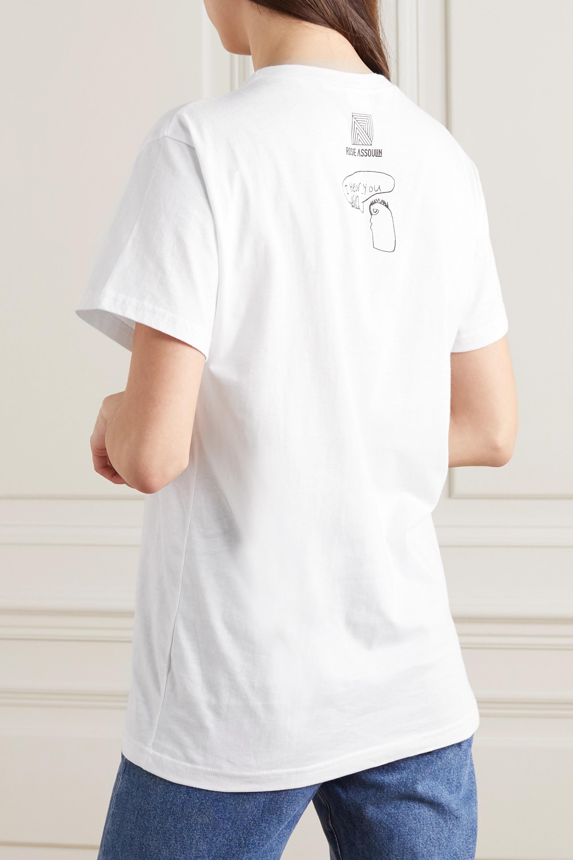 Rosie Assoulin 【国际妇女节专题系列】印花纯棉平纹布 T 恤