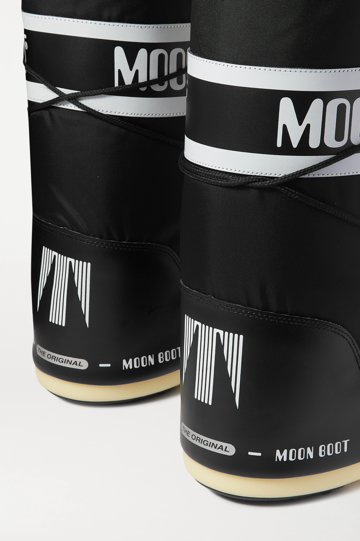Moon Boot 软壳面料人造皮革雪地靴