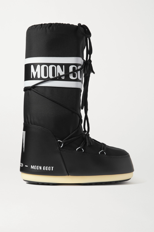 Moon Boot Schneestiefel aus Shell und Kunstleder